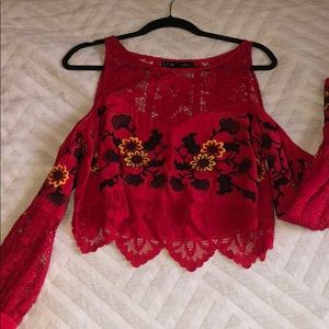 For love and lemons red top